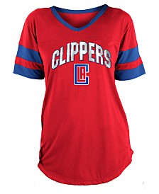 5th & Ocean Women's Los Angeles Clippers Mesh T-Shirt
