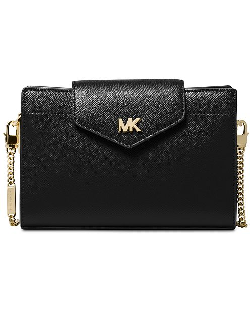3b71146c77 Michael Kors Crossgrain Leather Crossbody Clutch - Handbags ...