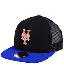 New Era New York Mets Classic Trucker 9FIFTY Snapback Cap