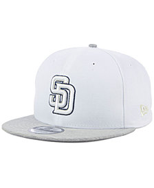 New Era San Diego Padres Bright Heather 9FIFTY Snapback Cap