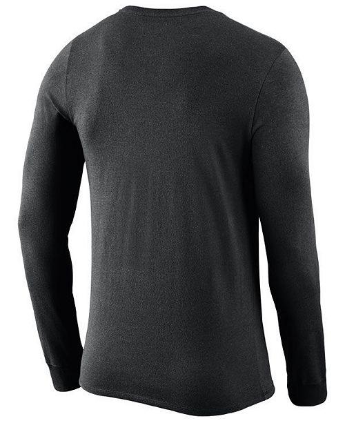 Nike Men s New Orleans Saints Dri-FIT Cotton Seismic Long Sleeve T-Shirt ... c8a2e957b