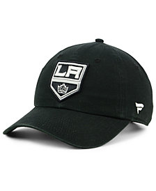 Authentic NHL Headwear Los Angeles Kings Fan Relaxed Adjustable Strapback Cap