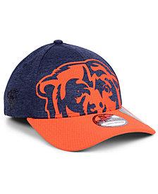 New Era Chicago Bears Oversized Laser Cut Logo 39THIRTY Cap