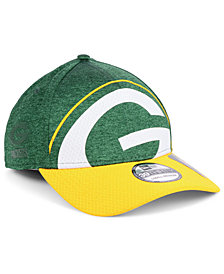 New Era Green Bay Packers Oversized Laser Cut Logo 39THIRTY Cap