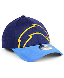 New Era Los Angeles Chargers Oversized Laser Cut Logo 39THIRTY Cap