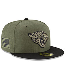 New Era Jacksonville Jaguars Salute To Service 59FIFTY FITTED Cap