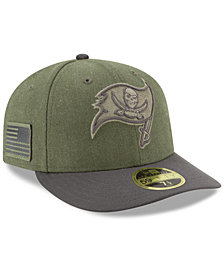 New Era Tampa Bay Buccaneers Salute To Service Low Profile 59FIFTY Fitted Cap 2018