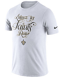 Nike Men's New Orleans Saints Dri-Fit Cotton Local T-Shirt