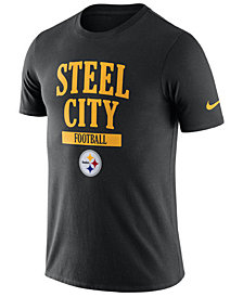 Nike Men's Pittsburgh Steelers Dri-Fit Cotton Local T-Shirt