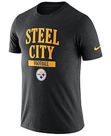 Nike Men's Pittsburgh Steelers Dri-Fit Cotton Local T-Shirt