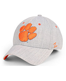 Zephyr Clemson Tigers Tailored Flex Stretch Fitted Cap