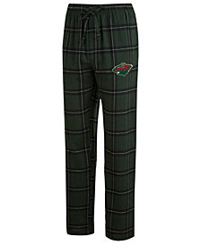 Concepts Sport Men's Minnesota Wild Homestretch Flannel Pajama Pants