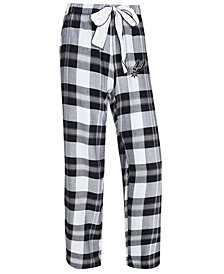 Concepts Sport Women's San Antonio Spurs Headway Flannel Pajama Pants