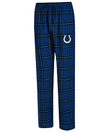 Concepts Sport Men's Indianapolis Colts Homestretch Flannel Sleep Pants