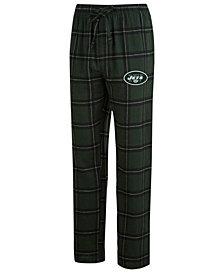 Concepts Sport Men's New York Jets Homestretch Flannel Sleep Pants