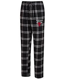 Concepts Sport Men's Chicago Bulls Homestretch Flannel Sleep Pants