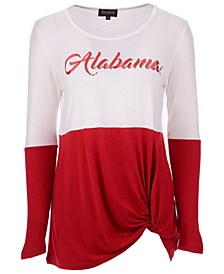 Women's Alabama Crimson Tide Colorblock Twist Long Sleeve T-Shirt