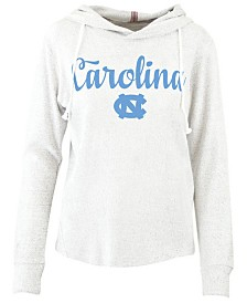 Pressbox Women's North Carolina Tar Heels Cuddle Knit Hooded Sweatshirt