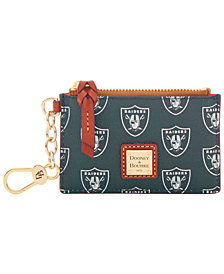 Dooney & Bourke Oakland Raiders Zip Top Card Case