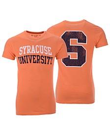 Men's Syracuse Orange Team Stacked Dual Blend T-Shirt