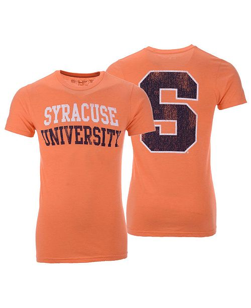 best loved 08659 bd436 Men's Syracuse Orange Team Stacked Dual Blend T-Shirt