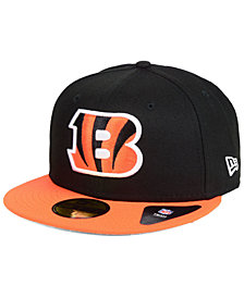 New Era Cincinnati Bengals Team Basic 59FIFTY Fitted Cap