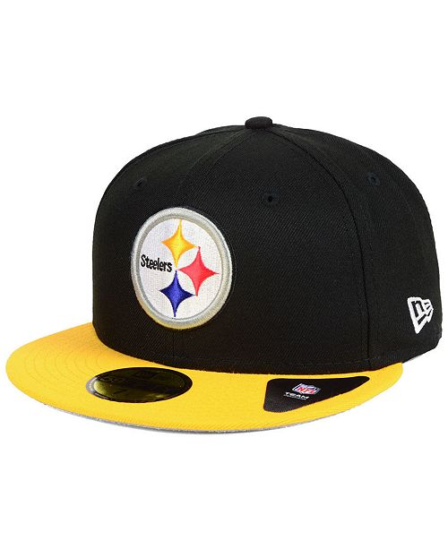 New Era Pittsburgh Steelers Team Basic 59FIFTY Fitted Cap