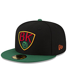 New Era Brooklyn Nets Dark City Combo 59FIFTY FITTED Cap
