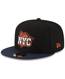 New Era New York Knicks Dark City Combo 59FIFTY FITTED Cap
