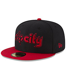 New Era Portland Trail Blazers Dark City Combo 59FIFTY FITTED Cap