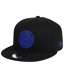 New Era Detroit Pistons Circular 9FIFTY Snapback Cap