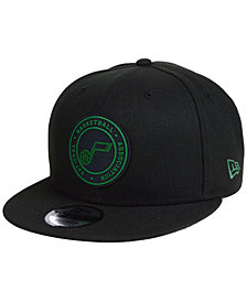 New Era Utah Jazz Circular 9FIFTY Snapback Cap