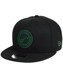 New Era Utah Jazz Circular 9FIFTY Snapback Cap