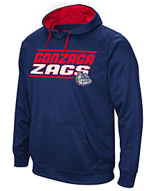 Colosseum Men's Gonzaga Bulldogs Stack Performance Hoodie