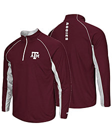 Colosseum Men's Texas A&M Aggies Rival Quarter-Zip Pullover