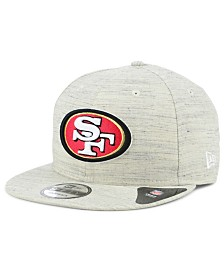 New Era San Francisco 49ers Luxe Gray 9FIFTY Snapback Cap