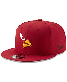 Arizona Cardinals Logo Elements Collection 9FIFTY Snapback Cap