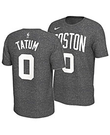 Nike Men's Jayson Tatum Boston Celtics Marled Player T-Shirt