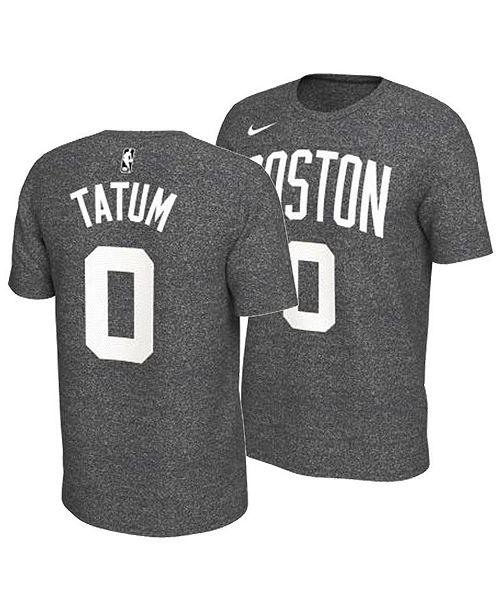 finest selection f7d31 77da6 Nike Men's Jayson Tatum Boston Celtics Marled Player T-Shirt ...