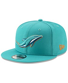 Miami Dolphins Logo Elements Collection 9FIFTY Snapback Cap