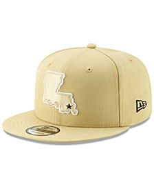 New Orleans Saints Logo Elements Collection 9FIFTY Snapback Cap