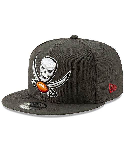 57200262ef8d5 ... New Era Tampa Bay Buccaneers Logo Elements Collection 9FIFTY Snapback  Cap ...