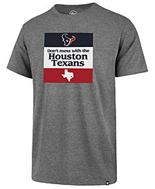 '47 Brand Men's Houston Texans Regional Slogan Club T-Shirt