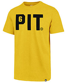 '47 Brand Men's Pittsburgh Steelers Regional Slogan Club T-Shirt