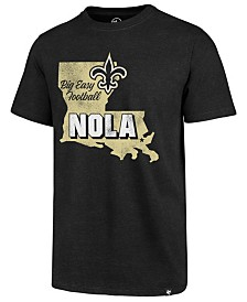 '47 Brand Men's New Orleans Saints Regional Slogan Club T-Shirt