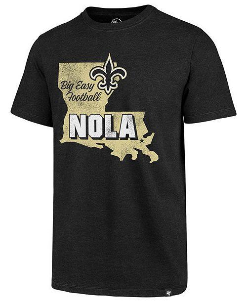 ...  47 Brand Men s New Orleans Saints Regional Slogan Club T-Shirt    ... e037870a0