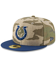 New Era Indianapolis Colts Vintage Camo 59FIFTY FITTED Cap