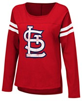 54031a5f91 Touch by Alyssa Milano Women s St. Louis Cardinals Free Agent Long Sleeve  T-Shirt