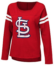 Touch by Alyssa Milano Women's St. Louis Cardinals Free Agent Long Sleeve T-Shirt