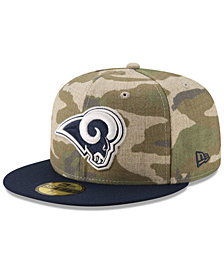 New Era Los Angeles Rams Vintage Camo 59FIFTY FITTED Cap